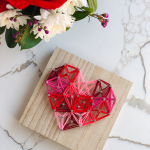 EASY Heart String Art DIY