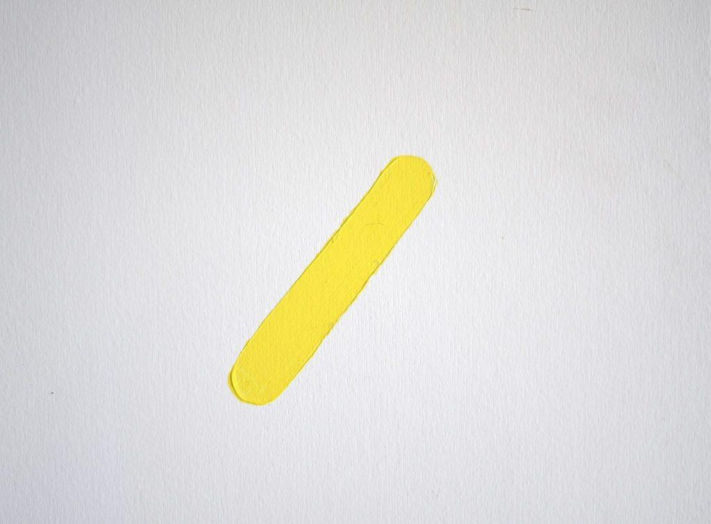 DIY Girl Room Wall Paint Yellow