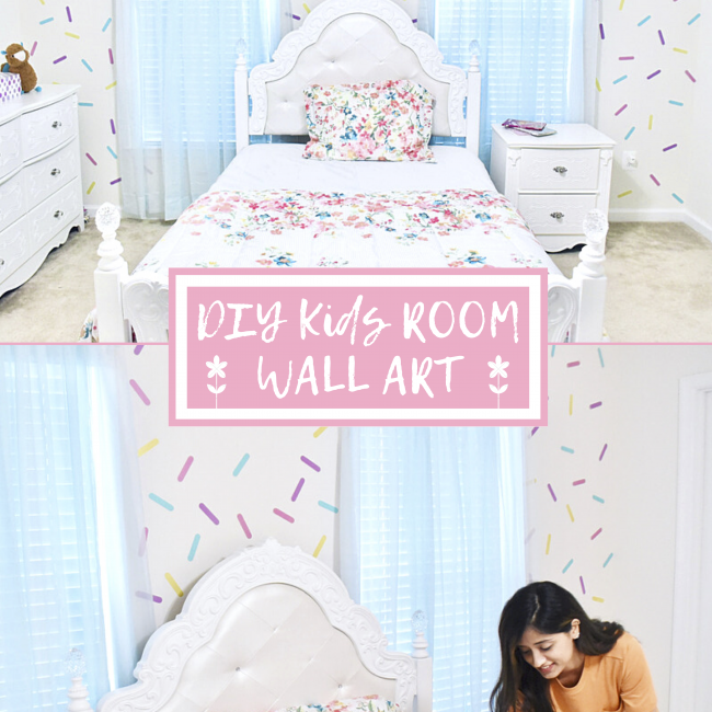Girls Room Wall Paint Cover Image