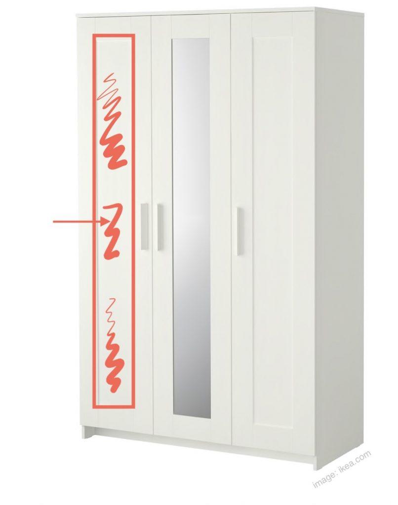 Ikea Wardrobe Panel Design