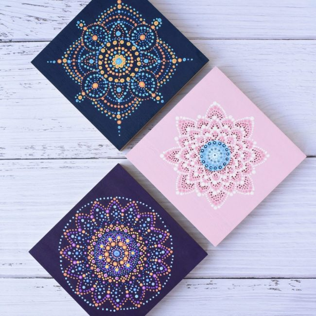 Dot Mandala Painting Designs