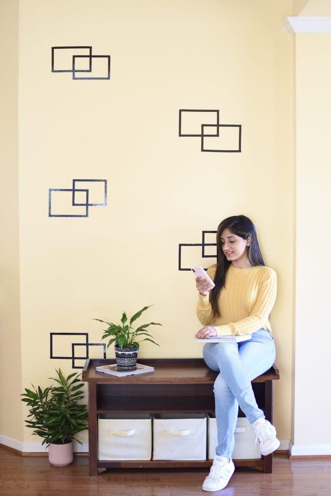 Easy DIY Wall Art - Arvinder