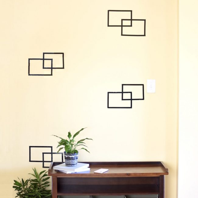 Easy DIY Wall Art - Rectangle