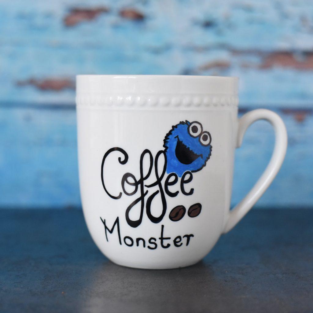 Sharpie Mug - Coffee Monster