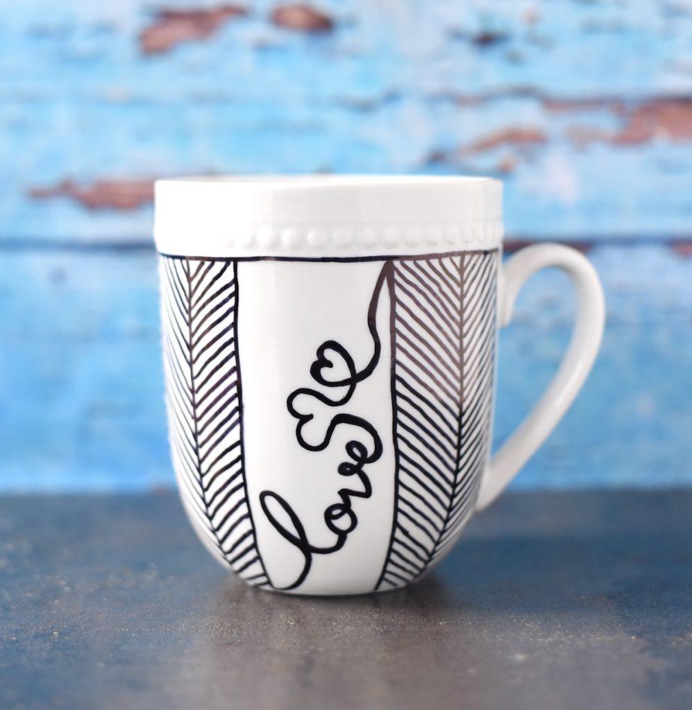 Sharpie Mug Love