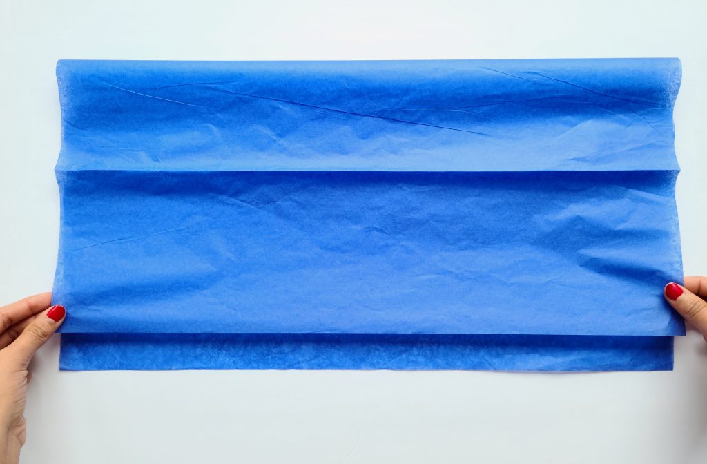 1st Fold - Patriotic Garland