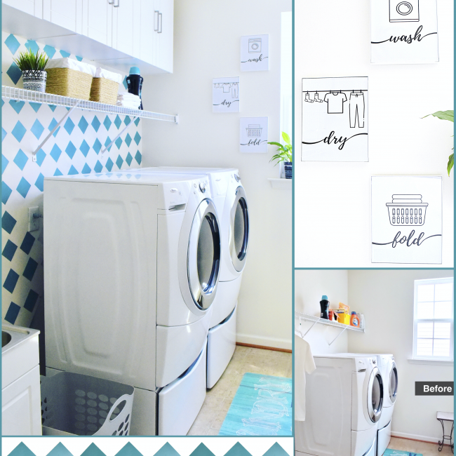 DIY Laundry Room Ideas on a Budget