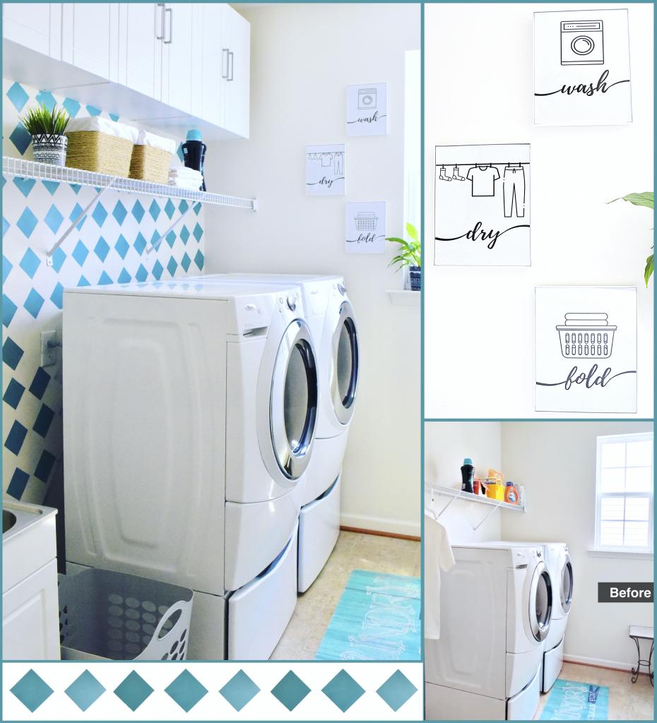 DIY Laundry Room Ideas on a Budget