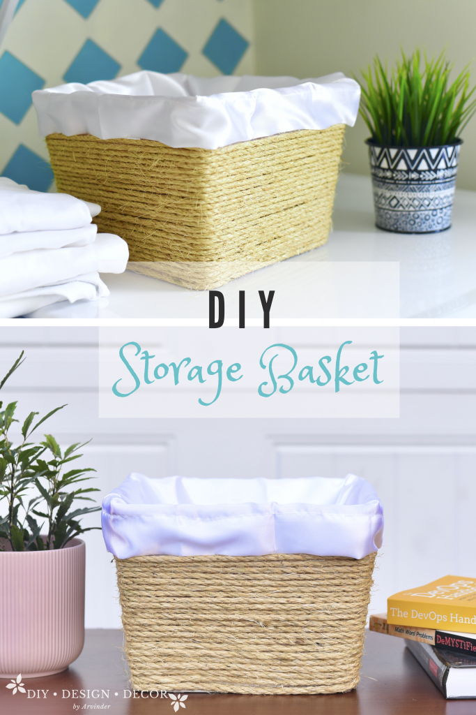 DIY Storage Basket