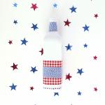 DIY Wine Bottle Patriotic Craft