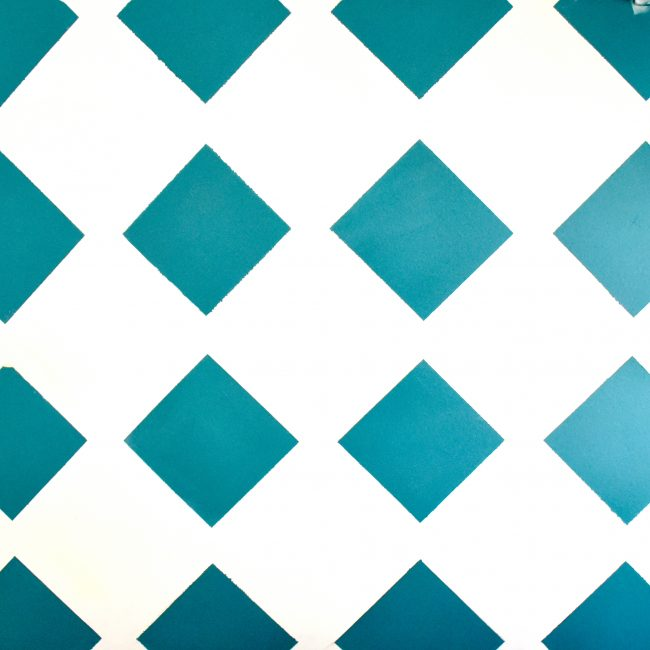 Lattice Diamond Tape Wall Art