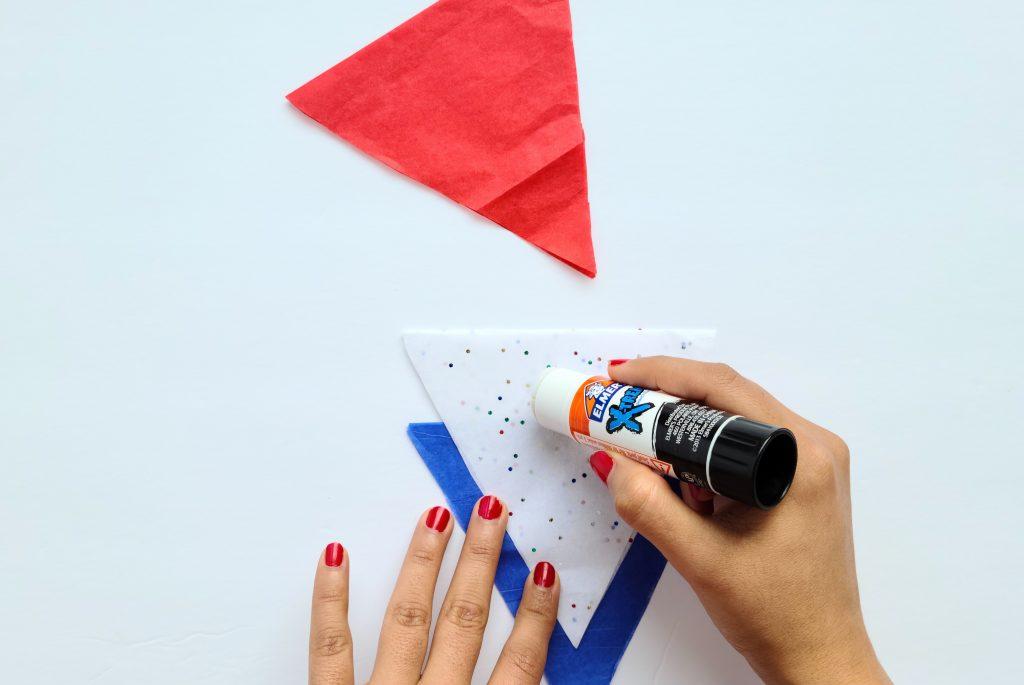 Glue Second Triangle