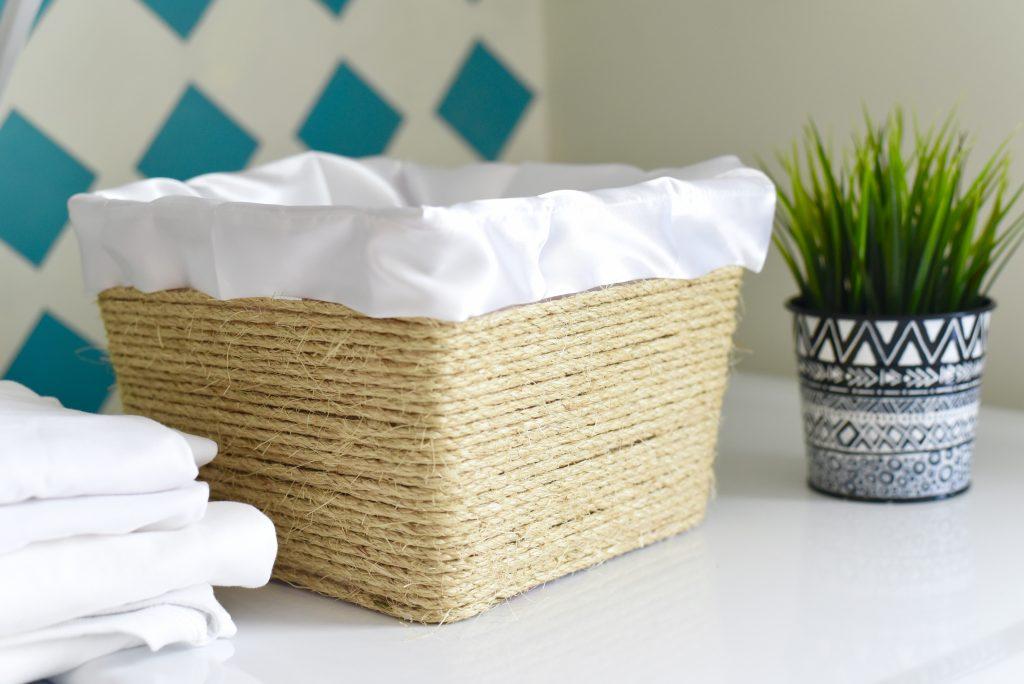 DIY Storage Basket